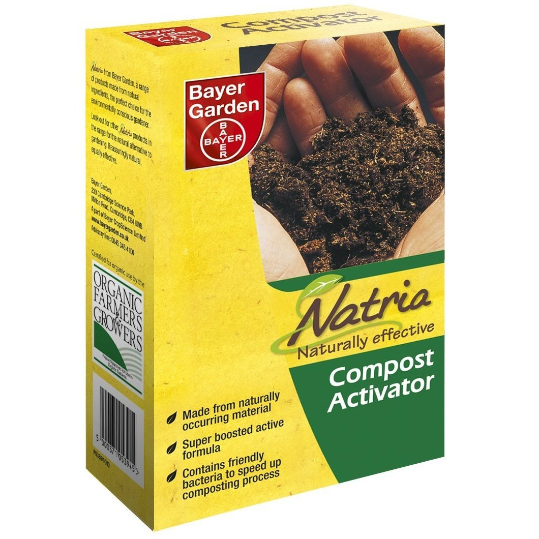 Bayer Garden® Organic Natria Naturally Effective Natural Fertilizer Accelerator Compost Activator 1KG (1kg (1 Pack))