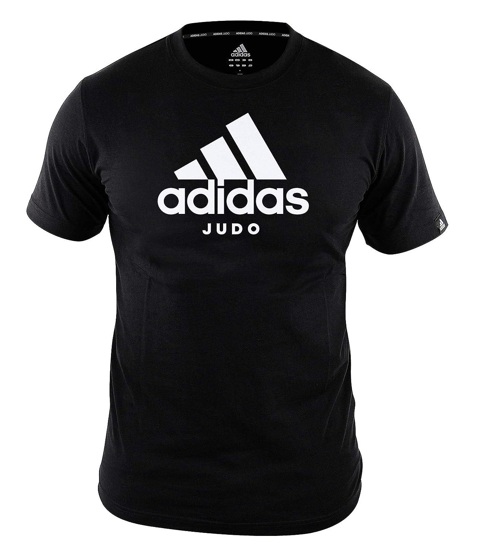 adidas Community line T Shirt Judo Performance BlackWhite, ADICTJ