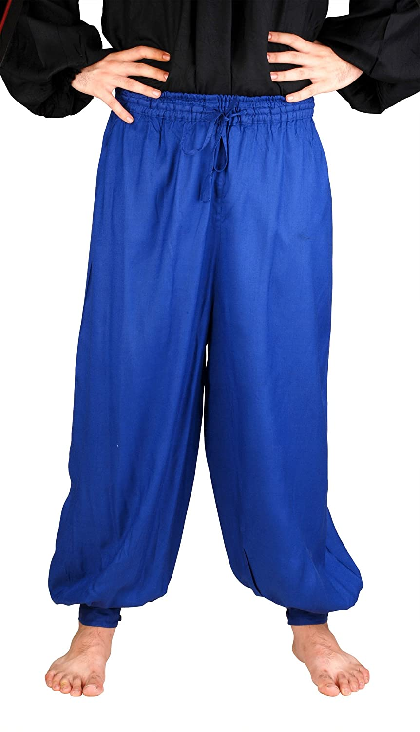 Renaissance Pirate Royal Blue Harem Pants