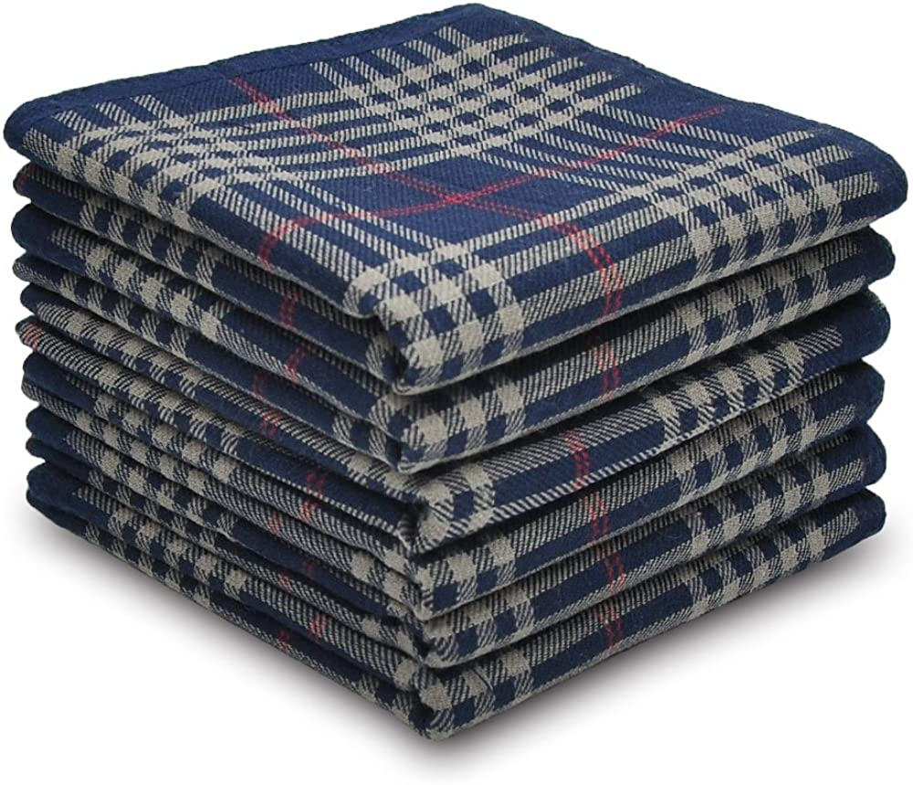 Pañuelos para hombre de 100 % algodón seleccionados, juego de ...