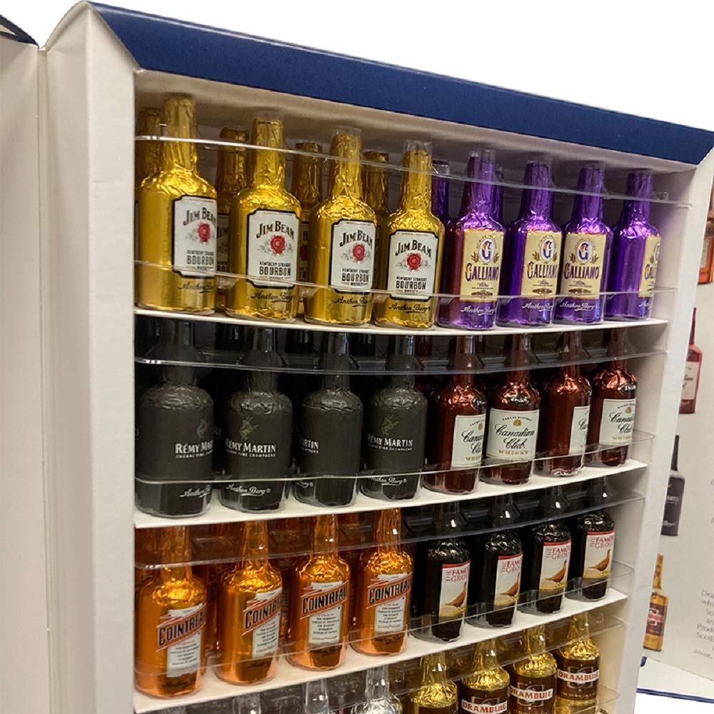 Anthon Berg Liqueur Bottles - Counter Disp (Pack of 64) : Chocolate Candy : Grocery & Gourmet Food