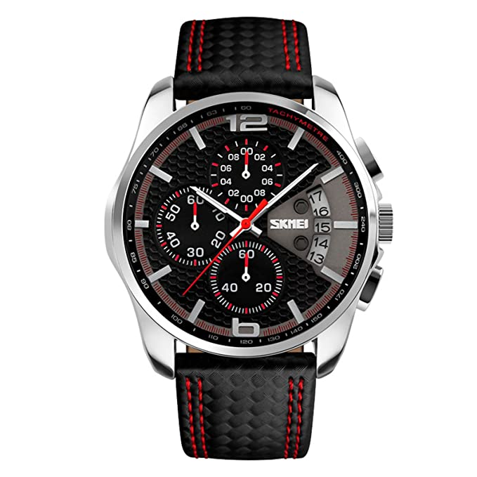 Amazon.com: Relojes de Hombre Sport LED Reloj Hombre Digital ...