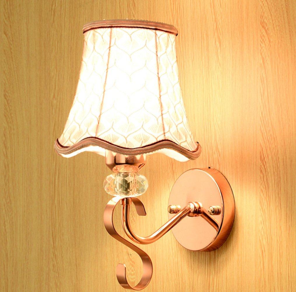 Unbekannt DZ Nachttischlampe Schlafzimmer Modernen Minimalistischen Einzigen Scheinwerfer Kinderzimmer Kreative Gang Treppen Führte Europäischen Wandleuchten,B
