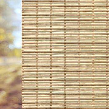 window film bamboo static decorative privacy window films for glass nonadhesive anti uv - Window Film Decorative