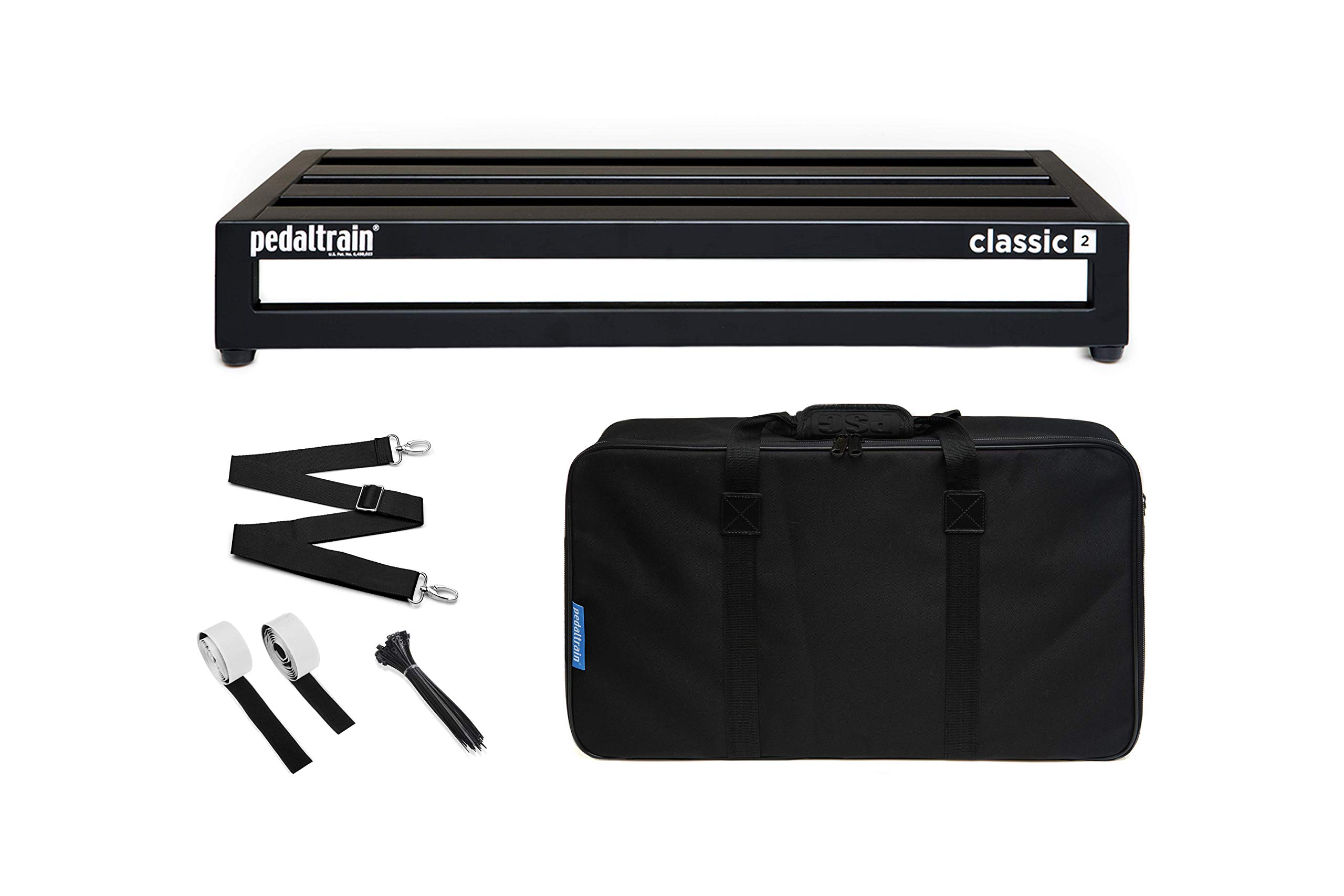 PT-CL2-SC Pedaltrain Classic 2 w/soft case by Pedaltrain