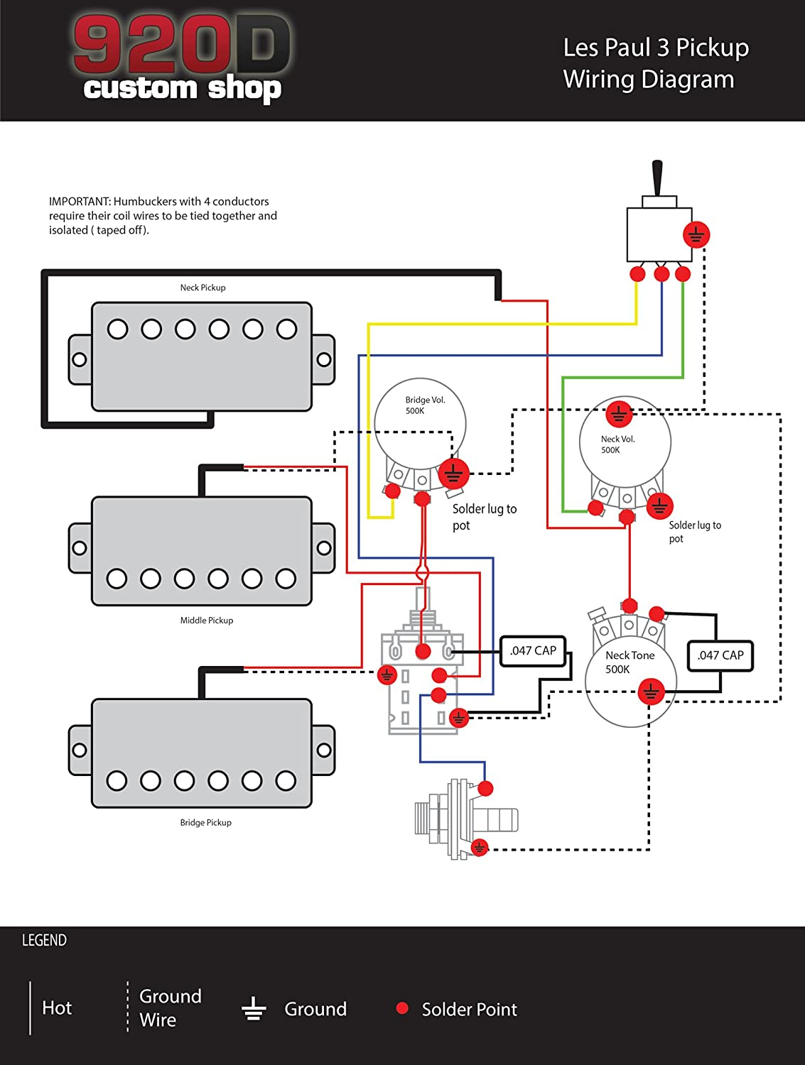 wiring diagram 3 humbucker les paul wiring image gibson 3 pickup wiring diagram jodebal com on wiring diagram 3 humbucker les paul