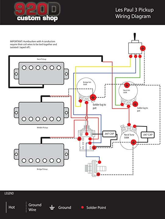 71B6kSLGW2L._SY717_ telecaster bridge twin lion pickup wiring diagram telecaster  at bayanpartner.co