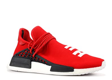 b77daf1ef8e6 adidas NMD Pharrell Williams Human Race Hu Race Scarlet Red - Black White  Trainer  Amazon.co.uk  Shoes   Bags