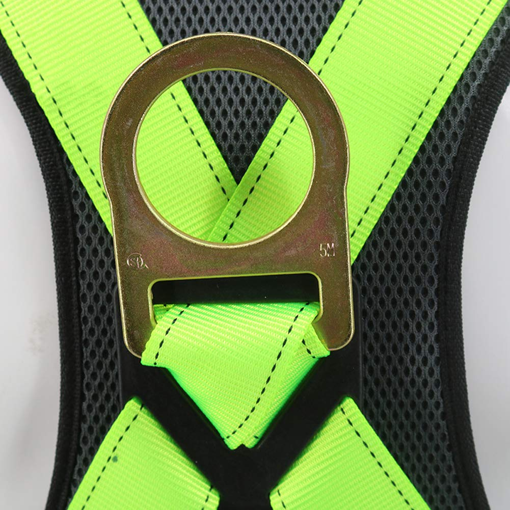 Safety Fall Protection Harness high Altitude Anti-Falling Sling Outdoor Expansion Climbing Rock Climbing Polyester Belt by HENRYY (Image #5)