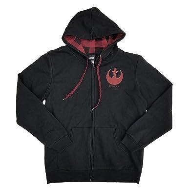 608ce39e88d Amazon.com  Fashion Star Wars The Last Jedi Rebels Logo Graphic ...