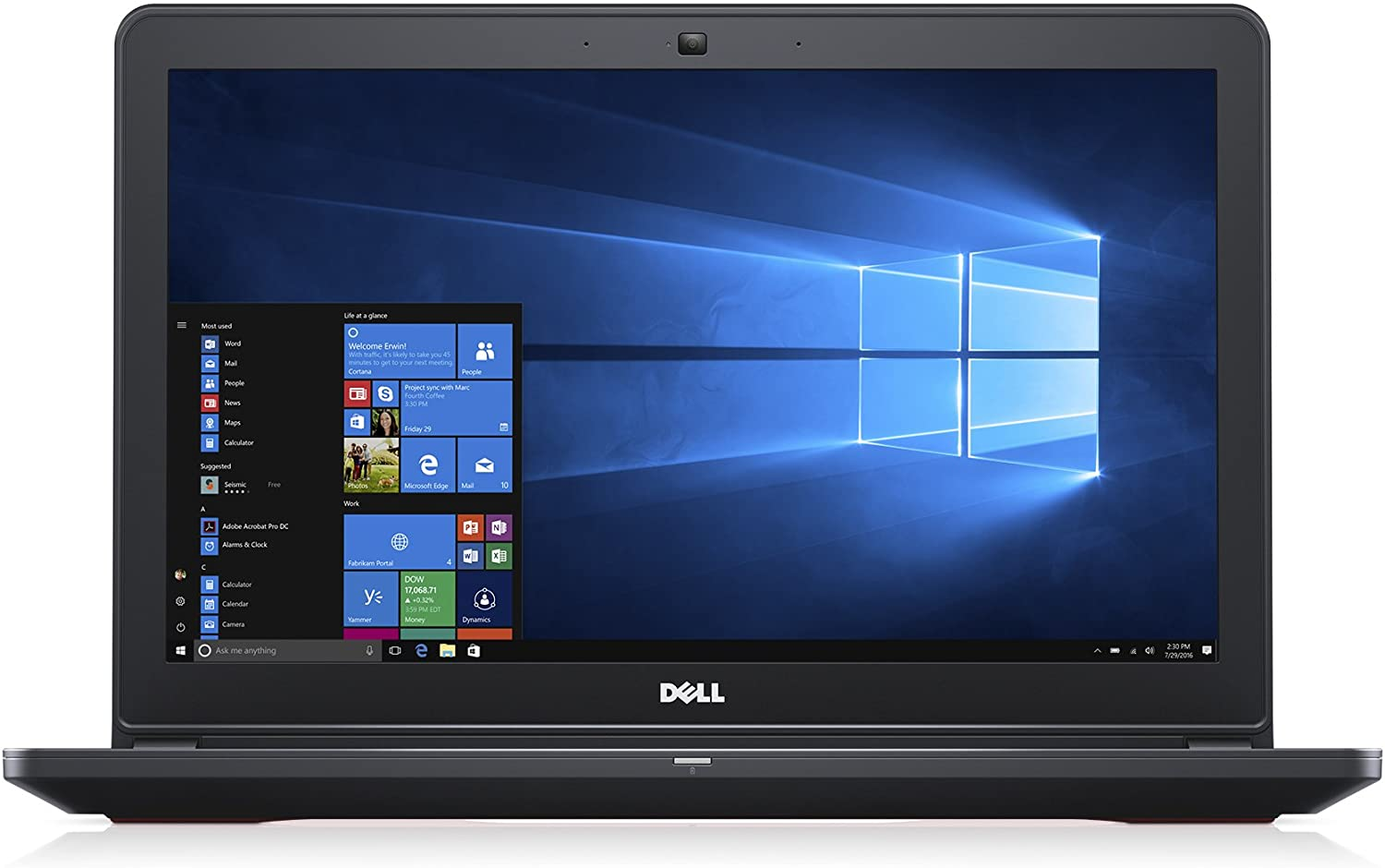 "Dell Inspiron i5577-7342BLK-PUS,15.6"" Gaming Laptop, (Intel Core i7,16GB,512GB SSD),NVIDIA GTX 1050"