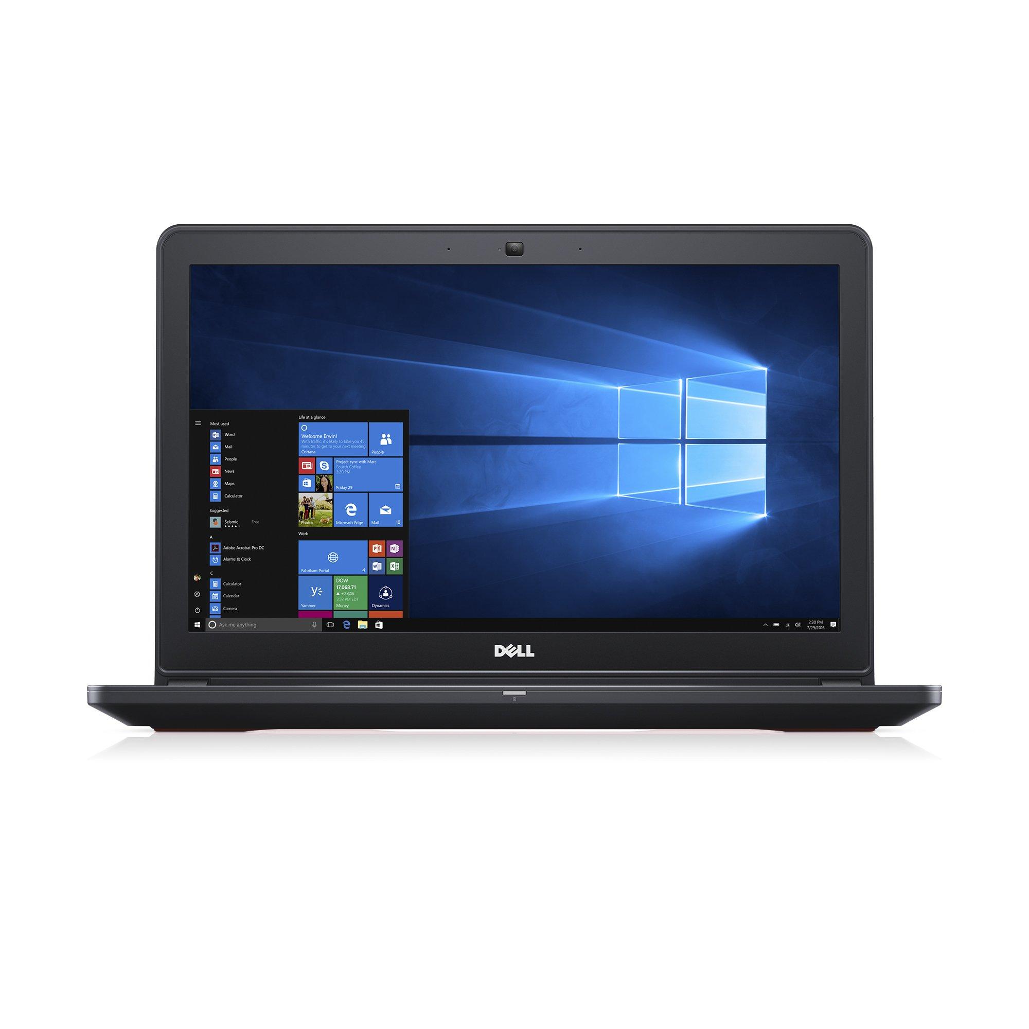 Dell Inspiron Gaming Laptop - 15.6'' Full HD, Core i7- 7700HQ, 8 GB RAM, 1000 GB HDD + 128GB SSD, GTX 1050, Metal Chassis - i5577-7359BLK-PUS