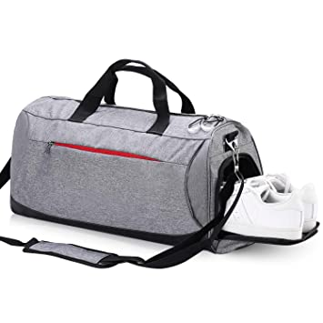 49a55140b65e Eocean Dry Wet Depart Duffle Bag Sports Gym Bag with Shoes Compartment,  Waterproof Gym Sports Bag for Men and Women