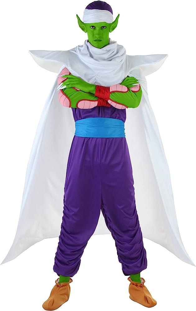 Dragón Bola Z Piccolo disfraz - Verde -: Amazon.es: Ropa y accesorios