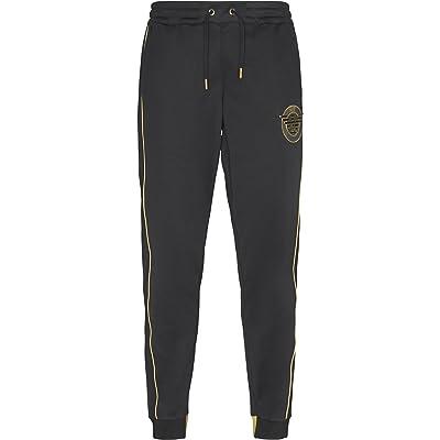 cheap search for authentic Discover Emporio Armani EA7 Men's Sport Jumpsuit Trousers Black ...
