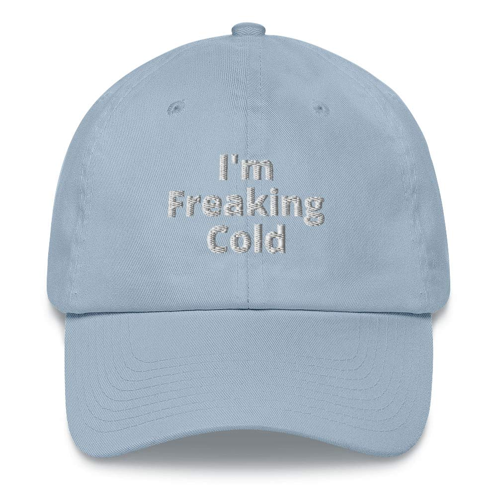 Alpha5StarDeals Im Freaking Cold Thin Blooded Dad hat