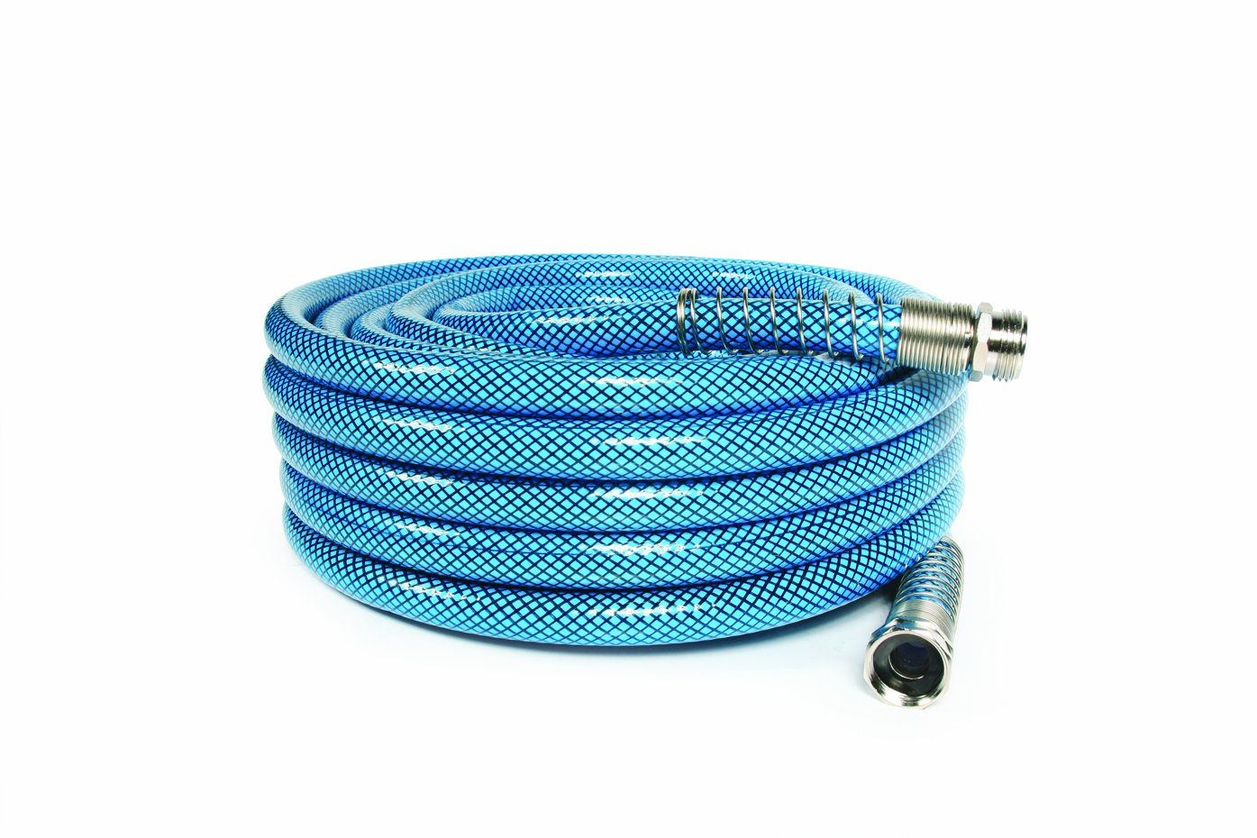 Camco 50ft Premium Drinking Water Hose - Lead Free, Anti-Kink Design, 20% Thicker Than Standard Hoses (5/8'Inside Diameter) (22853)