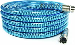 "Camco (22853) 50ft Premium Drinking Water Hose - Lead Free, Anti-Kink Design, 20% Thicker Than Standard Hoses (5/8""Inside Diameter)"