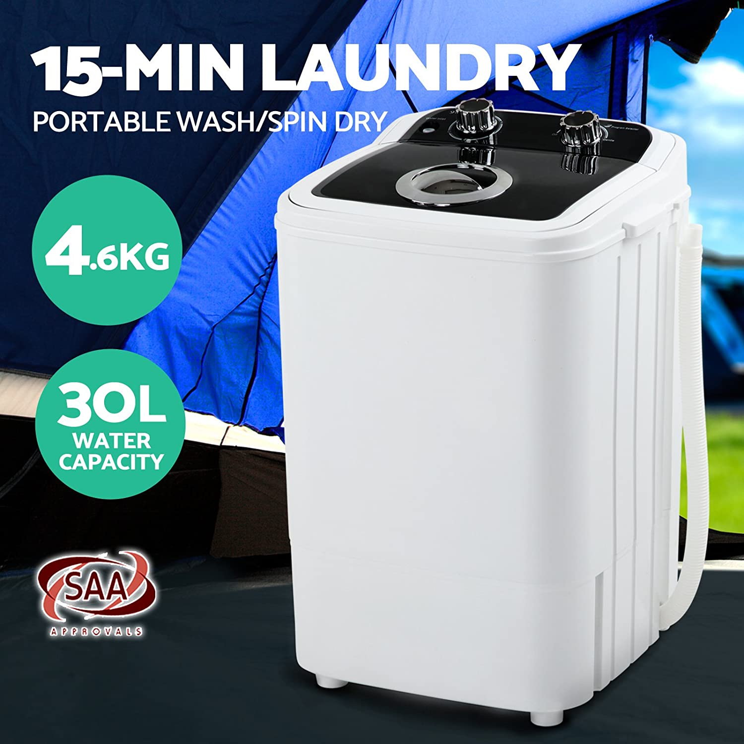 06d331a6d Devanti 4.6KG Mini Portable Washing Machine - Black  Household ...