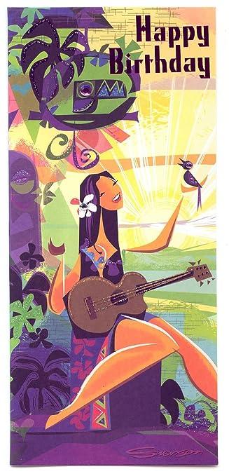 Amazon.com: Hawaiian tarjeta de felicitación Diseñador Serie ...