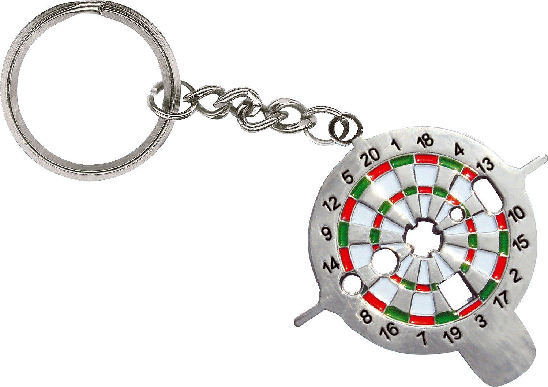 Kings Dart Dart-Universalwerkzeug | Dart Multi-Tool zur Reparatur von Pfeilen u. Schäften | Praktischer Schlüsselanhänger mit 6 Funktionen | nur 15 g | Markenqualität RN266