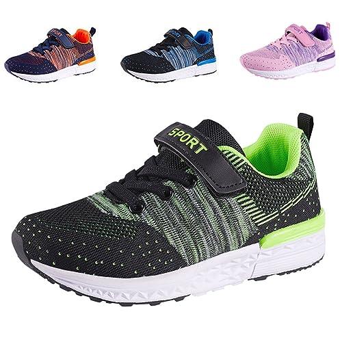 SITAILE Unisex Scarpe da Ginnastica bambini Scarpe da Corsa Scarpe Sportive  Bambina Fitness Running Sneakers Basse 0d2d9c3858e