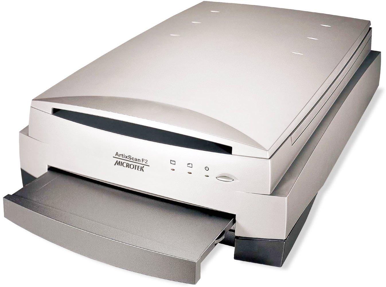 Microtek Artixscan F2 Scanner 1108-03-680202