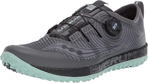 grippy trail running shoe Saucony Mens Switchback ISO