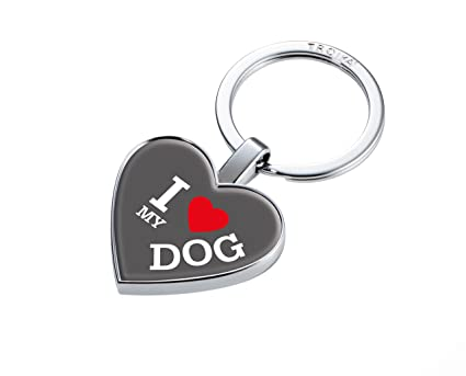 Troika I Love My Dog ? #KYR22-A178? Llavero con Moneda para ...