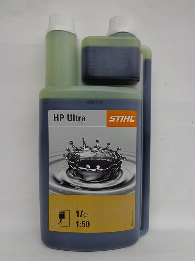 Stihl HP Ultra - Aceite (mezcla 1:50, 1 L, botella, 2 tiempos ...