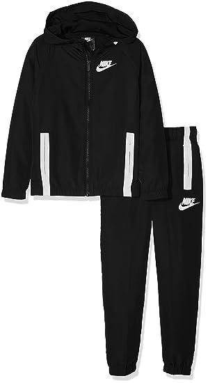 efa06c78 Nike Sportswear Winger Boys' Tracksuit, boys, 939628, Noir (Black/White