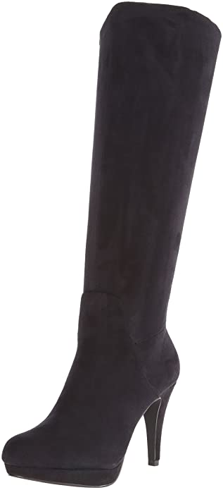 632ad95f326 ADRIENNE VITTADINI Footwear Women s Premiere Slouch Boot Black 6.5 ...