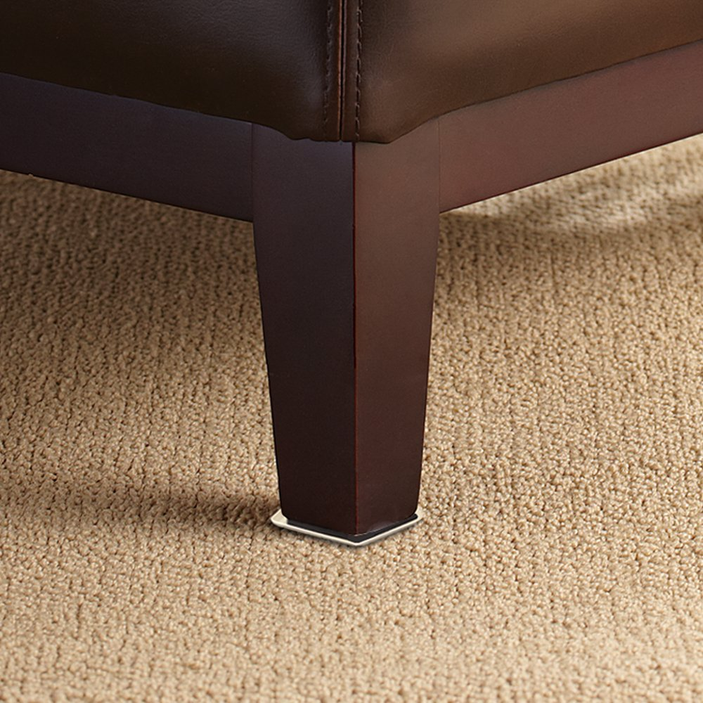 SuperSliders 4704295N Reusable Furniture Movers for Carpet 8 Pack 3-1//2 x 6 Linen Quickly and Easily Move Any Item