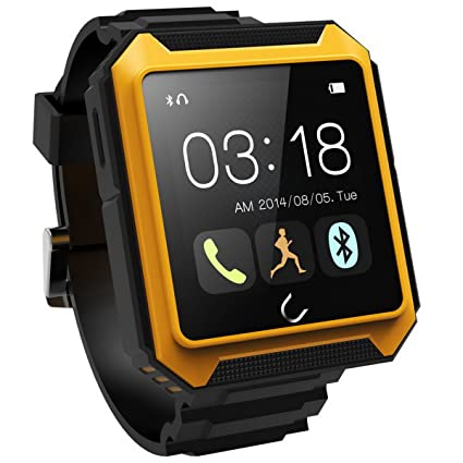 LC Prime® U Watch U TERRA Bluetooth Smart Watch Phone Mate Sleep Monitor For IOS Android