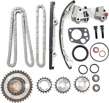 Timing Chain Kit for 98-04 Nissan Frontier /& Nissan Xterra /& Nissan Altima 2.4 L4 DOHC 16V KA24DE #9-4180SA