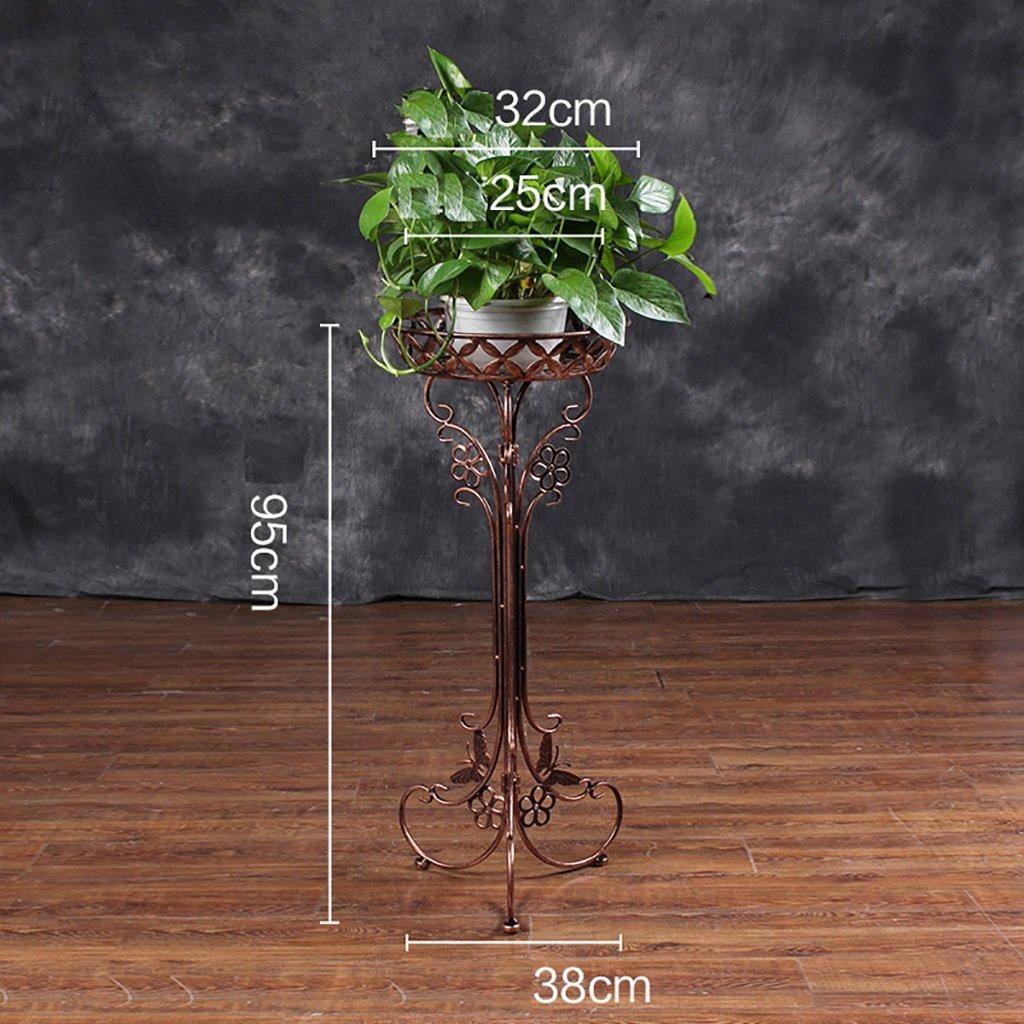 フラワースタンド/植物フローラルメタルスタンド屋内/屋外ガーデンストレージディスプレイスタンド(ホワイト) (色 : 1, サイズ さいず : 95*32cm) B07F2F3D8M  1 95*32cm