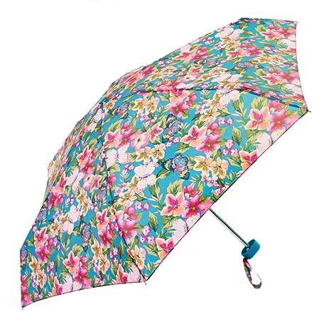 Nylon 3-Fold Water Proof Rain, Sun and UV Rays Protection Umbrella for Men and Women (Black)