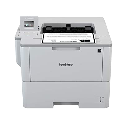 Brother HL-L6400DW - Impresora láser Profesional Monocromo (Bandeja 520 Hojas, 50 ppm, USB 2.0, Memoria de 512 MB, Doble Cara automática, Ethernet, ...