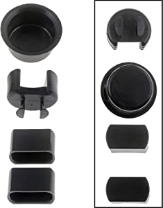 APDTY 49752 Tailgate Hinge Insert Kit Rear Bed & Gate Fits Left & Right Side 96-01 Dodge Ram 1500, 2500, 3500 Pickup, 93-06 Ranger, 87-06 Ford F150, F250, F350, F450, F550 (Replaces 55274936AC)