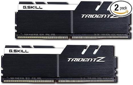 TridentZ Series DDR4 PC4-28800 3600MHZ For Intel Z170 Platform 288-Pin Desktop Memory Model F4-3600C17Q-32GTZ G.SKILL 32GB 4 x 8GB
