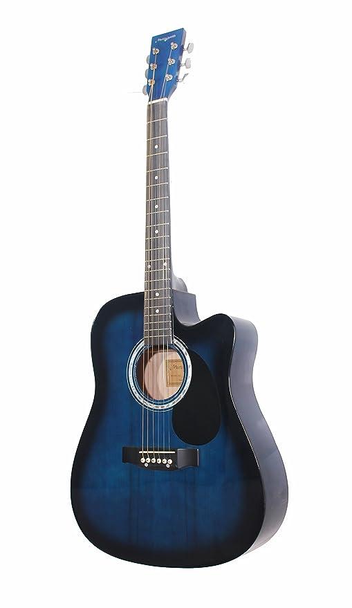 Martin Smith W-600-C-BL - Guitarra acústica con cuerdas metálicas ...