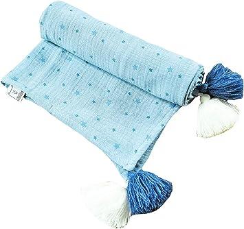 Tela de muselina para bebé recién nacido MoMika | Manta Swaddle ...