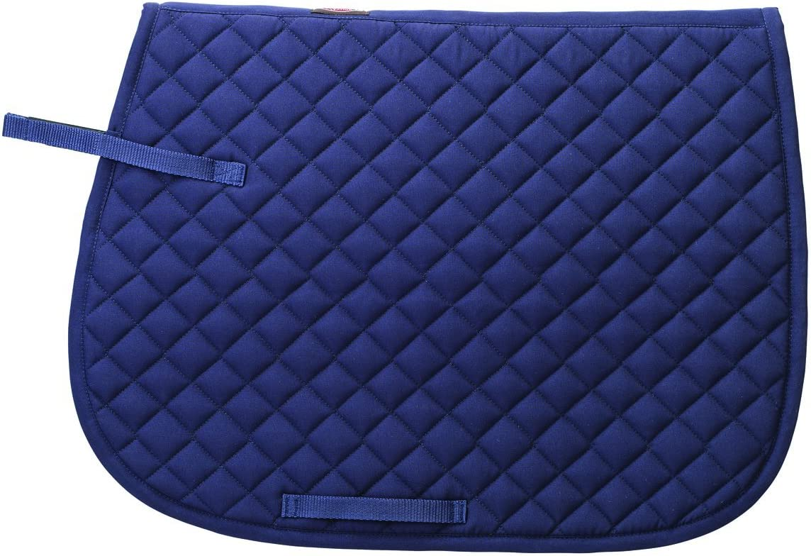 Equiroyal Quilted English Saddle Pad Horse Tack