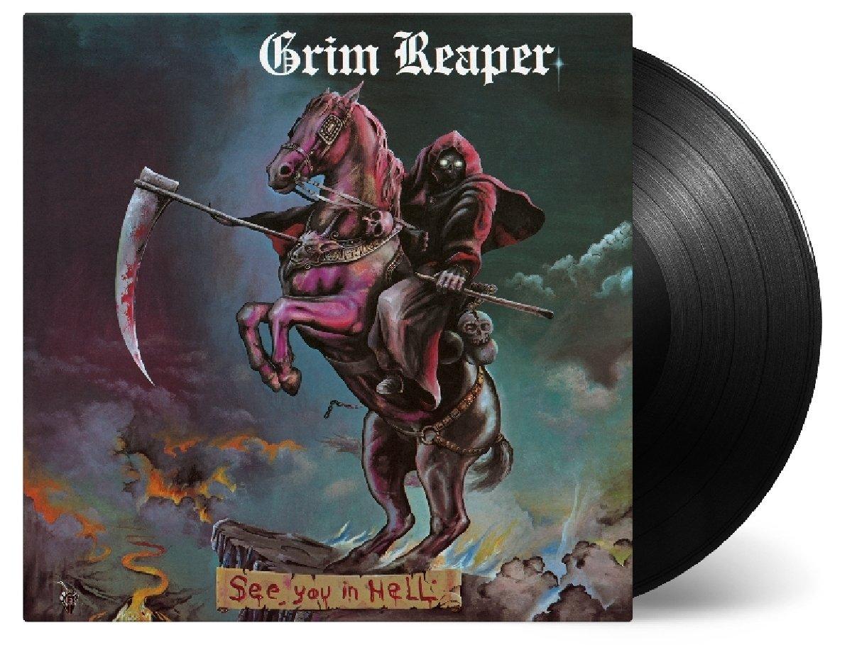 Vinilo : Grim Reaper - See You In Hell (LP Vinyl)