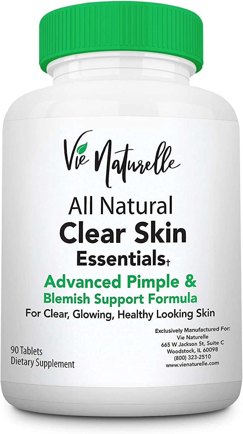 amazon.com: acne vitamins & acne supplements for acne treatment - acne pills  & acne vitamin supplements for cystic acne treatment - face, back, body &  hormonal acne treatment for teens, women &  amazon.com
