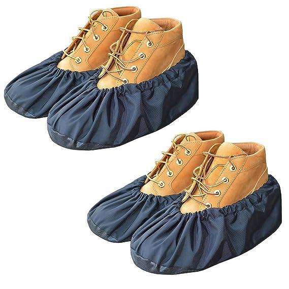 YOUTU Antislip Anti-Rutsch Schuhüberzieher,überschuhe überzieher Schuhüberzieher Shoe Cover Hülle,wiederverwendbar überschuhe