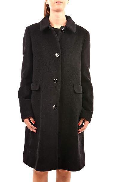 2c0b86cf0c Emporio Armani 6Z2L63 2N48Z Cappotti Donna Nero 44: Amazon.it ...