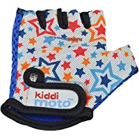 Kiddimoto Kids' GLV067M Bicycle Gloves, Multi-Colour, Medium