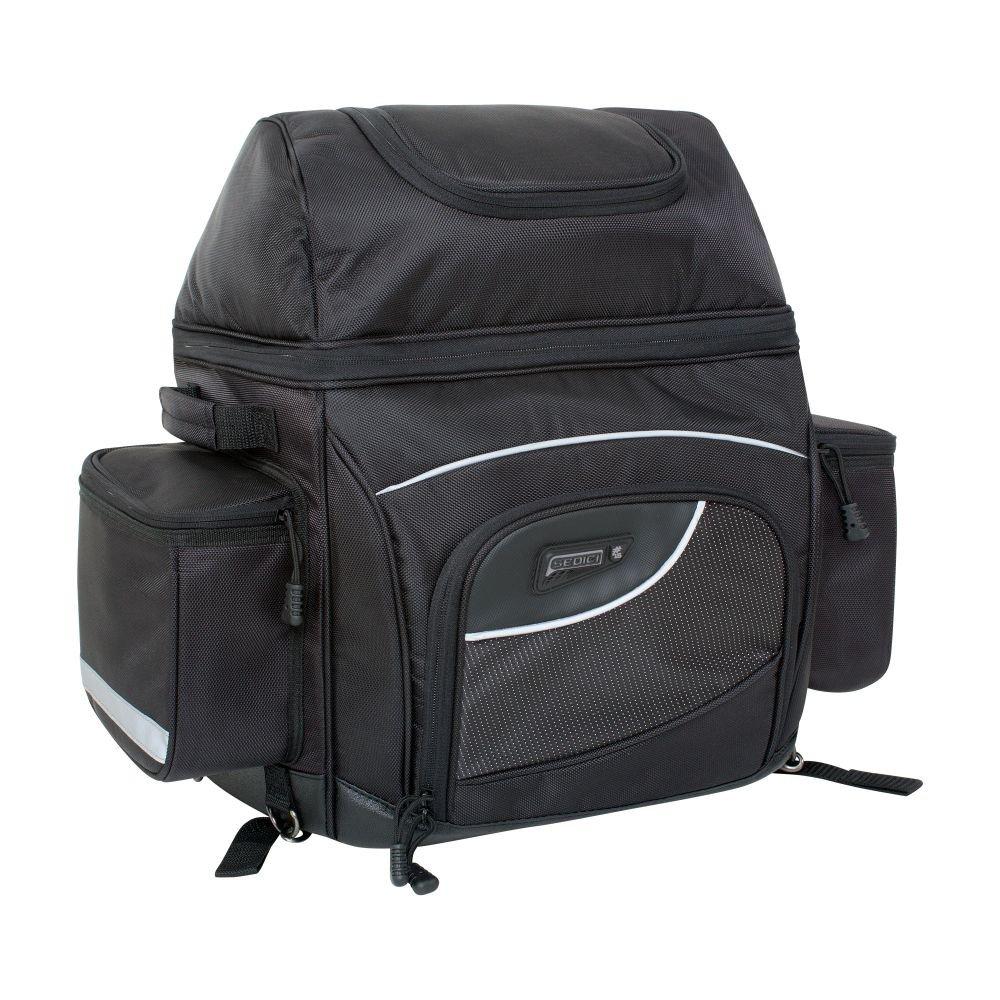 SEDICI Distanza Sissy Bar Bag - Black