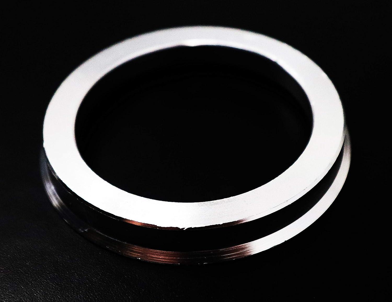 56.6mm 72.6mm Aluminium Hub Centric Centering Rings Wheel Hub Ring Set Inside Outside Diameter Wheels Caps Heat Resistant Strong Performance Never Break Never Melt INCLUDES 4 PIECES Universal Fit